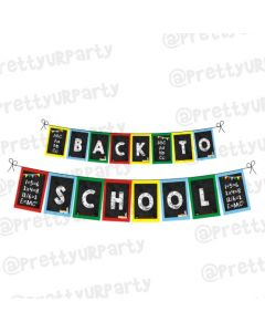 Back to School Bunting