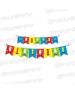 Monster Theme Bunting