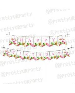 Flamingo Theme Bunting