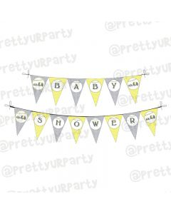 Elephant Baby shower bunting/banner