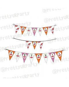 70th Birthday Theme Bunting