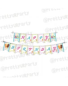 Ice Cream Theme Bunting