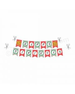 Pizza Party Theme Bunting