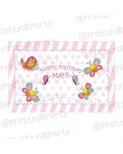 Butterfly Theme Backdrop