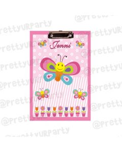 Personalised Butterfly Clipboards With Name