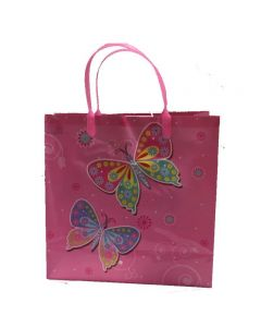 Butterfly Plastic Gift Bag