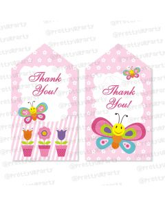 butterfly thankyou cards