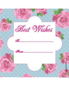custom best wishes floral design