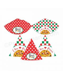 Pizza Party Theme Hats