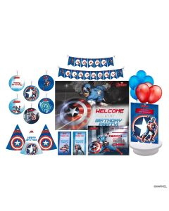 Disney Captain America Party Decorations