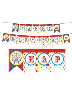 Carnival Happy Birthday Bunting