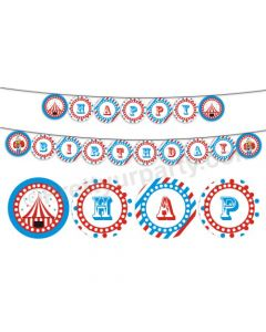 Carnival Happy Birthday Bunting 01