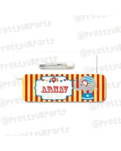 Carnival Theme Badge / Name Tag