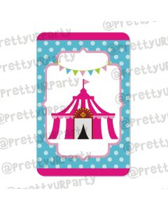 girly carnival centerpieces