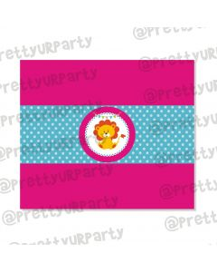 girly carnival chocolate wrappers
