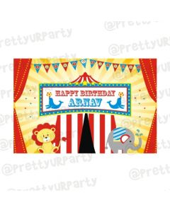 Carnival Theme Backdrop