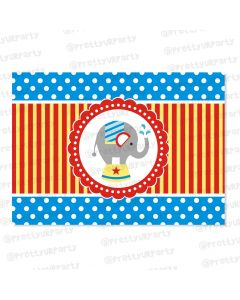carnival themed table mats