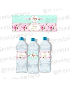 Carousel Water Bottle Labels