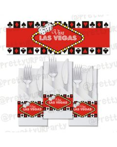 casino napkin rings