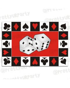 casino table mats