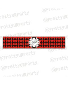 Casino themed wristbands