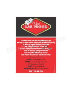 Casino E-Invitations