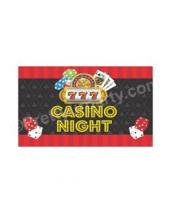 Casino Night Theme Backdrop