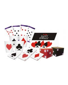 Cards Suit Theme Diwali Gift Hamper
