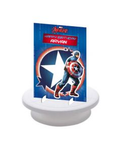 Captain America Centerpieces