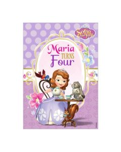 Sofia the first Enchanted Garden Party Centrepieces