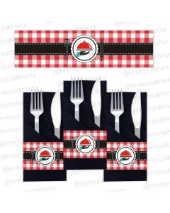 Little Chef Napkin Rings