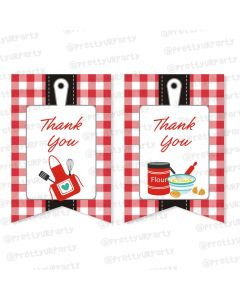 Little Chef  Thankyou Cards