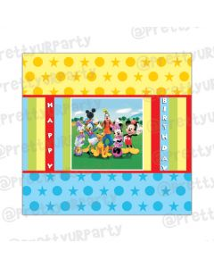 Mickey Mouse Clubhouse Inspired Chocolate Wrappers