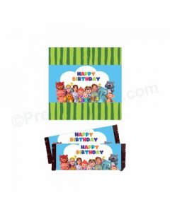 Cocomelon Theme Chocolate Wrappers