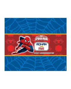 spiderman chocolate wrappers