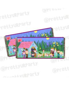 Ben and Holly's Little Kingdom Chocolate Wrappers
