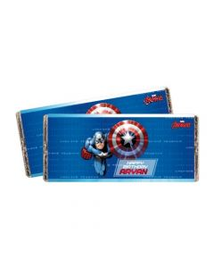 Captain America Chocolate Wrappers