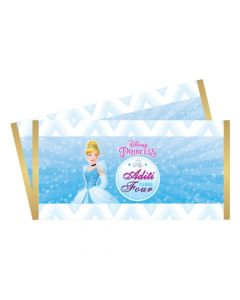 Disney Cinderella Chocolate Wrappers