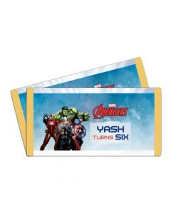 Avengers Chocolate Wrappers