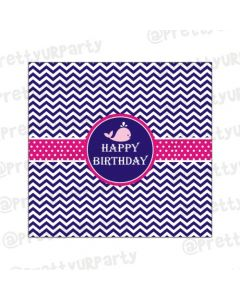 Girly Nautical Chocolate Wrappers