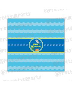 Under the Sea Chocolate Wrappers