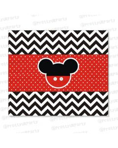 Mickey Mouse Inspired Chocolate Wrappers