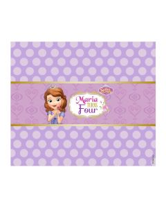 Sofia the first Enchanted Garden Party Chocolate Wrappers