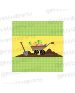 Gardening Theme Chocolate Wrappers