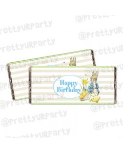 Peter Rabbit Theme Chocolate Wrappers