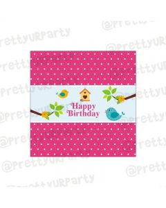 Little Bird Theme Chocolate Wrappers