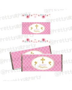 Baptism Theme Chocolate Wrappers