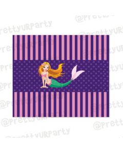 Mermaid  Chocolate Wrappers