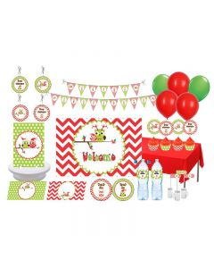 Christmas Owl Theme Package