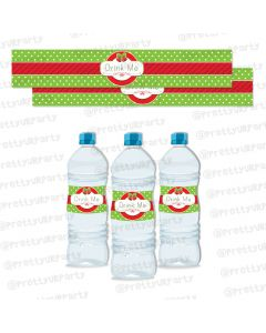 Christmas Water Bottle Lables
